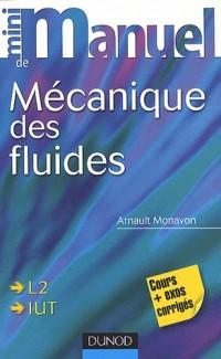 Mini manuel de mécanique des fluides : Cours + Exercices