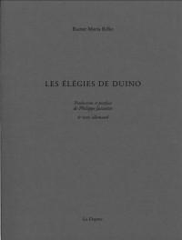 Les élégies de Duino : Edition bilingue français-allemand