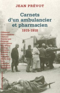 CARNETS AMBULANCIER PHARMACIEN