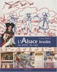 Alsace Brodee au Point de Tige (l')