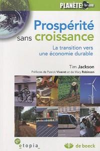 Prospérité sans croissance : La transition vers une économie durable