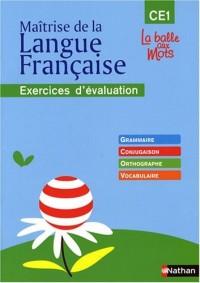 Maîtrise de la Langue Française CE1 : Exercices d'évaluation