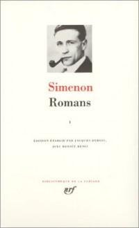 Simenon : Romans, tome 1