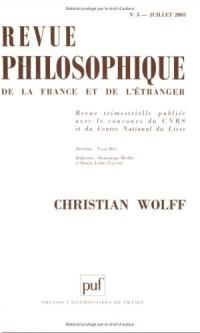 Revue philosophique de la France et de l'Étranger, numéro 3 - 2003