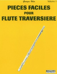 Partition: Flute traversiere vol. 1 pieces faciles