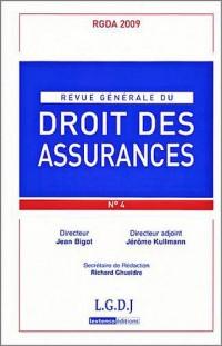 Revue générale du droit des assurances, N° 4 :