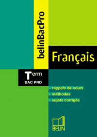 Français Terminale Bac pro