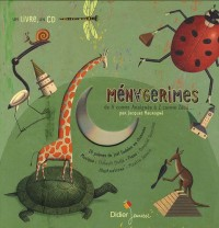 Ménagerimes : De A comme Araignée à Z comme Zébu... (1CD audio)