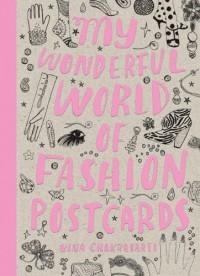 My Wonderful World of Fashion Postcard Book