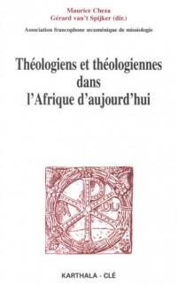 Théologiens et théologiennes dans l'Afrique d'aujourd'hui