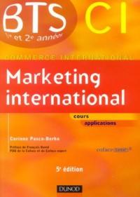 Marketing international BTS CI 1e et 2e années