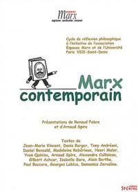 Marx contemporain