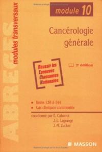 Cancérologie générale: Module 10
