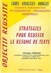 Stratégies pour réussir le résumé de texte