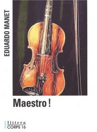 Maestro ! [édition en gros caractères]