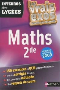 Maths 2de : Nouveau programme 2009