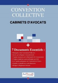 3078. Cabinets d'avocats Convention collective