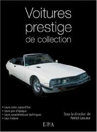Voitures de prestige de collection