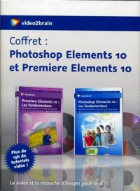 Coffret : Adobe Photoshop Elements 10 et Premiere Elements 10 - la Video et la Retouche d'Images Pou