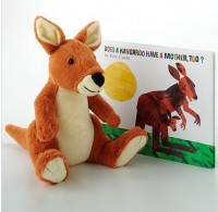 Eric Carle Does a Kangaroo Have a Mother Too? Book & Plush Toy 11