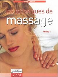 Les Techniques de massage