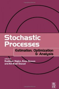 Stochastic Processes: Estimation, Optimisation and Analysis
