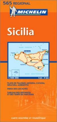 Carte routière : Sicilia, N° 11565 (en italien)