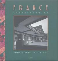France architectures : Années 20 et 30