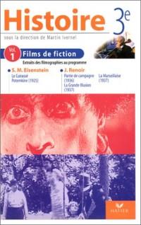 Histoire 3e : Films de fiction, volume 1 (cassette vidéo)