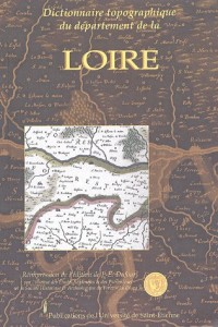 Dictionnaire topographique du département de la Loire