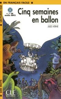 Cinq semaines en ballon (1CD audio MP3)