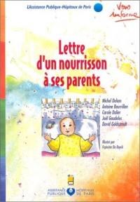 Lettre d'un nourrisson à ses parents