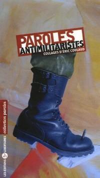 Paroles antimilitaristes