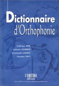Dict.d'oethophonie