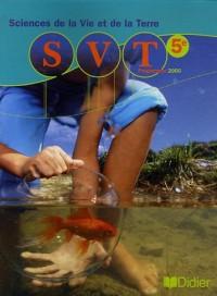Sciences de la Vie et de la Terre 5e : Programme 2006
