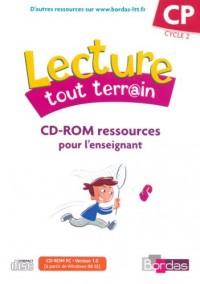 CD-ROM RESSOURCES POUR L'ENSEIGNANT LECTURE TOUT TERRAIN CP CYCLE 2 Livre scolaire