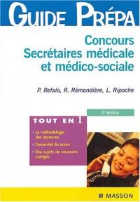 Concours secrétaires-médicale et médico-sociale