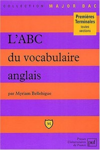 L'ABC du vocabulaire anglais