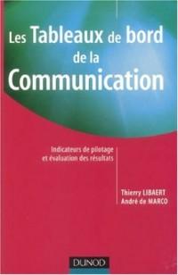 Les tableaux de bord de la communication