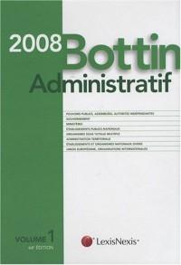 Bottin Administratif 2008 (1Cédérom) (ancienne édition)