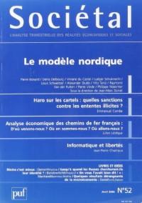 Societal N 52 2006 le Modele Nordique