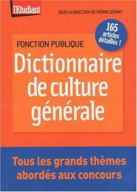 DICTIONNAIRE DE CULTURE GENERALE