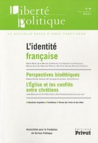 Liberté politique, N° 48 : L'identité française