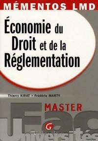Economie du Droit et de la Réglementation : Master