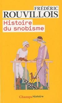 Histoire du snobisme