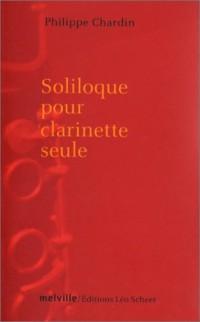 Soliloque pour clarinette seule