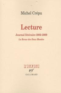 Lecture: Journal littéraire (2002-2009)