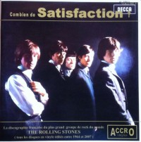 Combien de Satisfaction vol 3 . Lp Decca des Rolling Stones entre 1964 et 1971 . La discographie Francaise du plus grand groupe de rock du monde