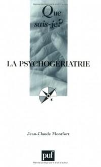 La psychogériatrie