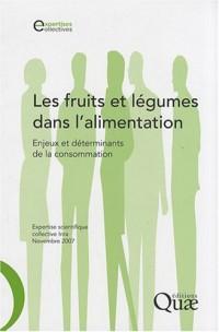 Fruits et légumes dans l'alimentation (les)